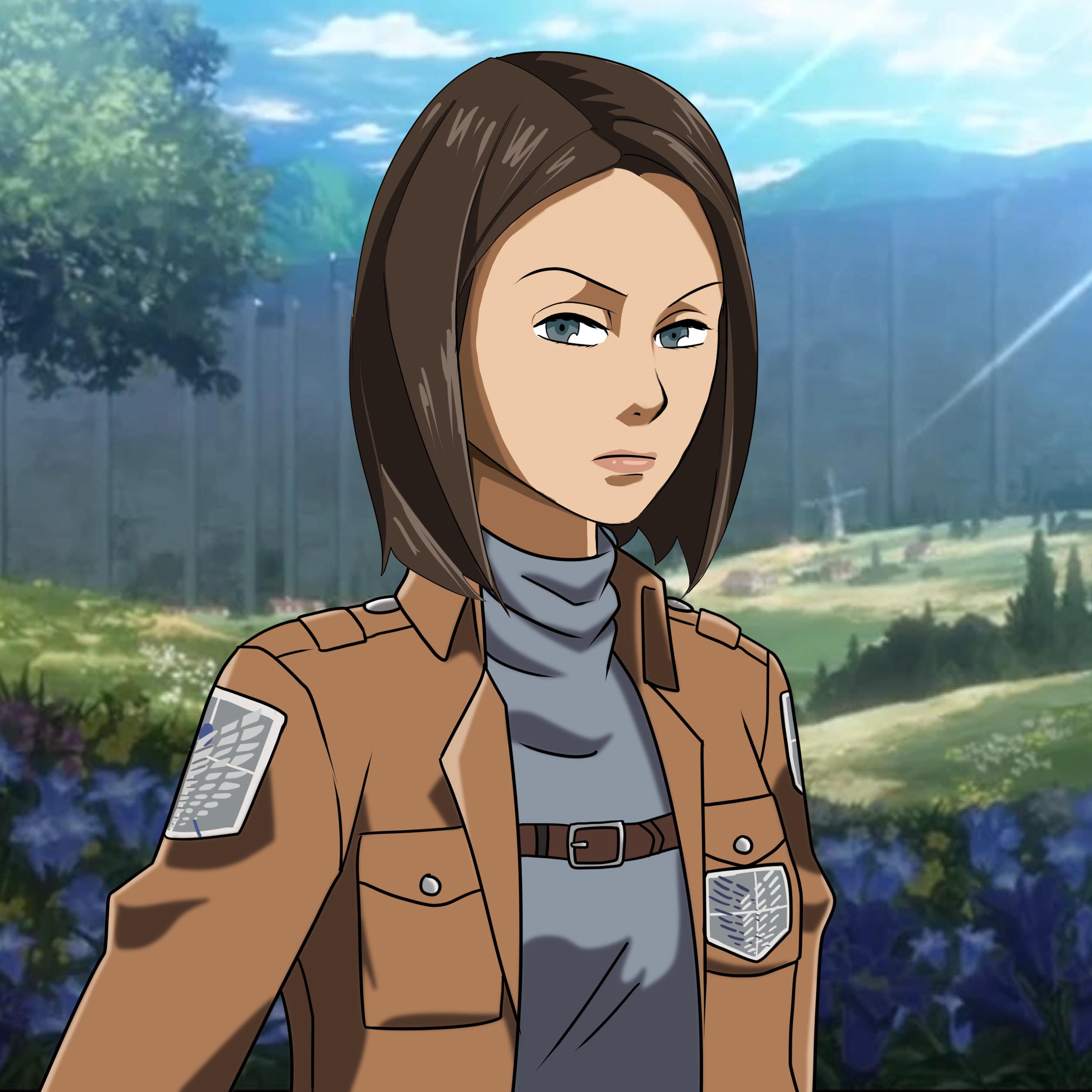 Get Your Attack On Titan Custom Portrait Draw Me Manga